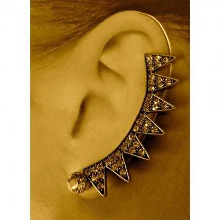 Spiked Ear Cuff Earrings