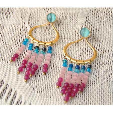 Colorful Dangler Earrings
