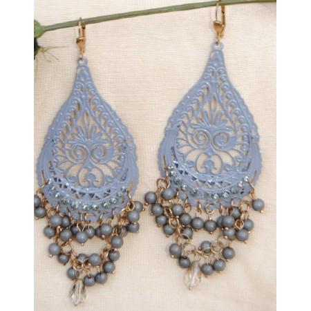 Diamond Dangler Earrings