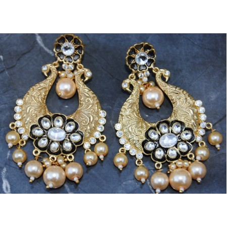 Artistic Designed Chand Bali Earrings