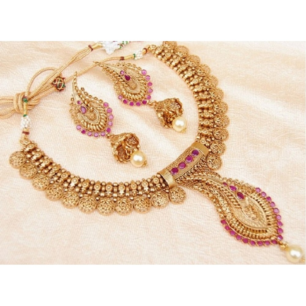 stri products sets necklace antique and set haram designer collection earring griiham