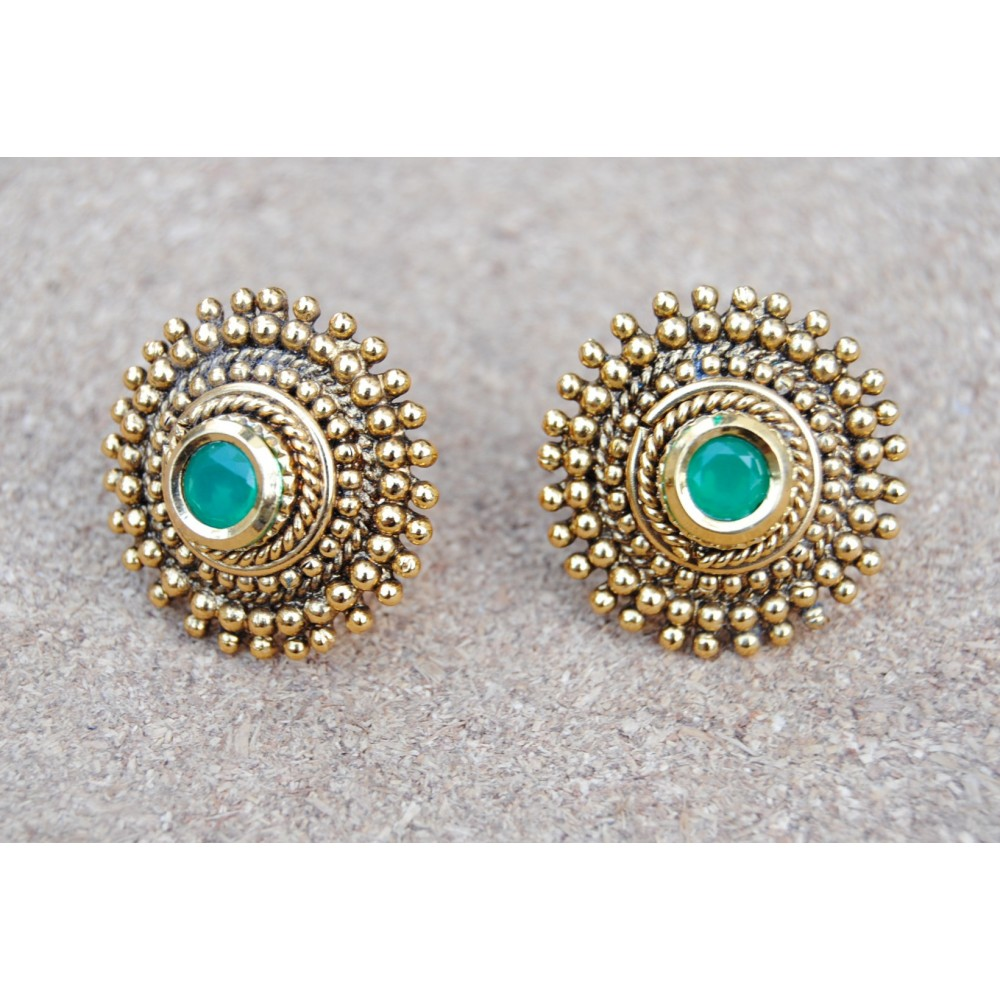 diamond gold cut for sale at illusion jewelry earrings emerald id z j antique stud