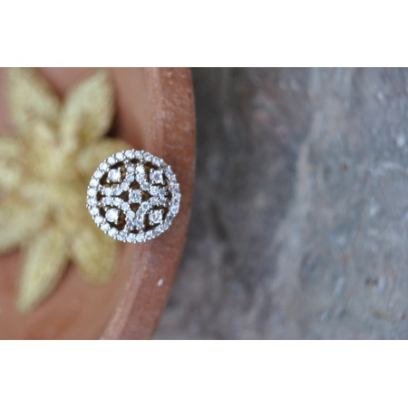 Small Bor Diamond Maang Tikka