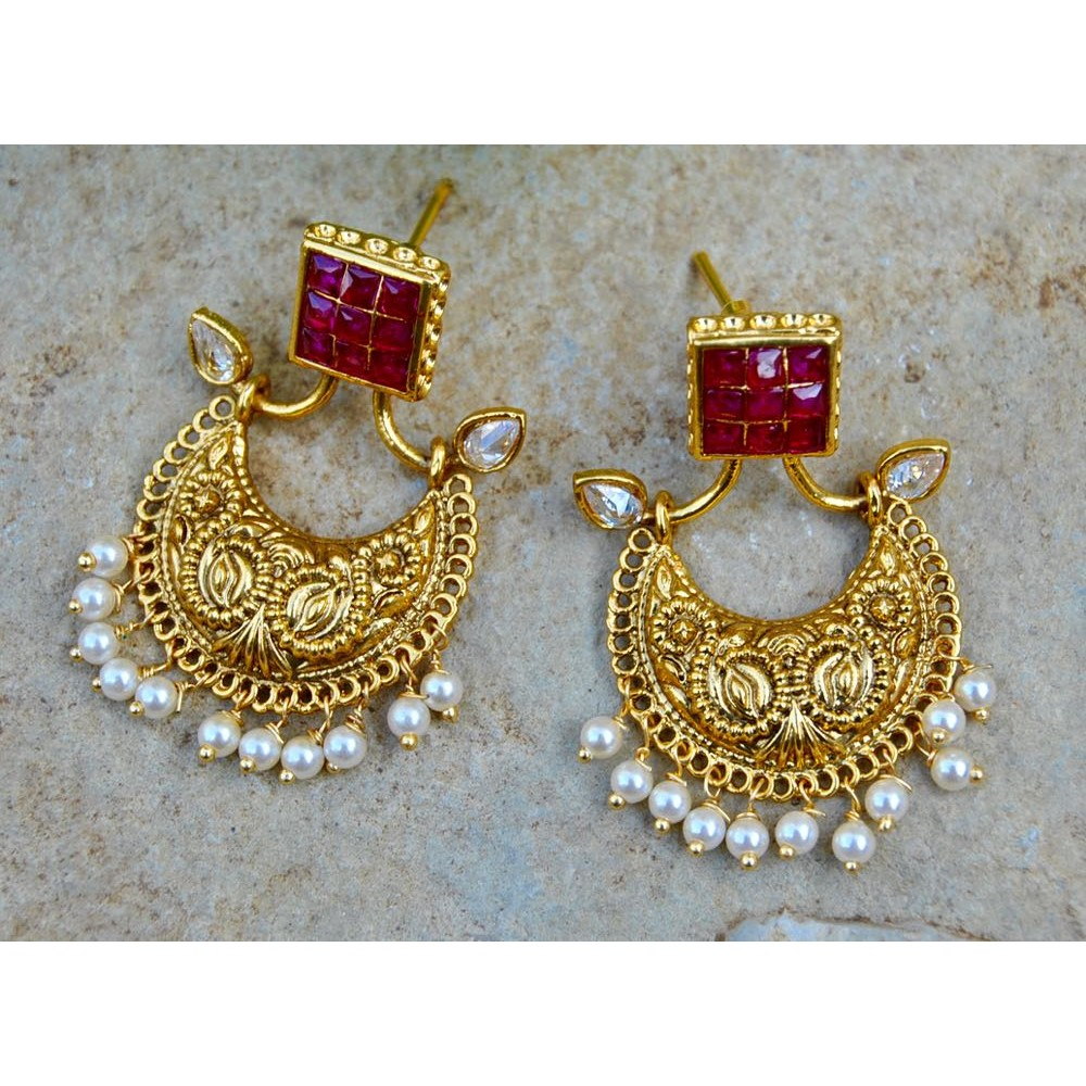 item stud for turkish style india antique earring vintage from new color kinel women asymmetry jewelry in letter n gold earrings
