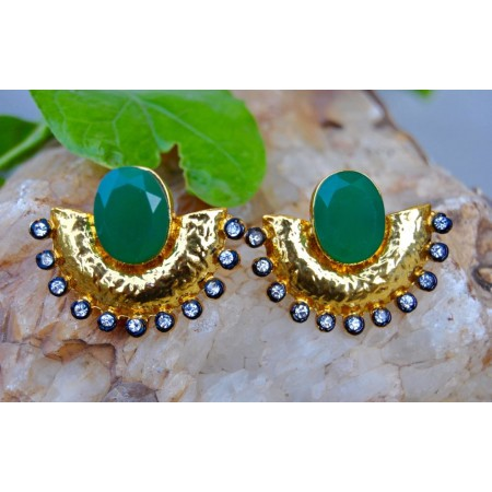 Green Onyx Golden Ear Jackets