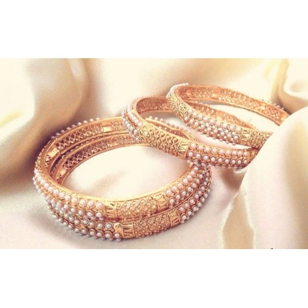 Ethnic Indian Pearl Bangles