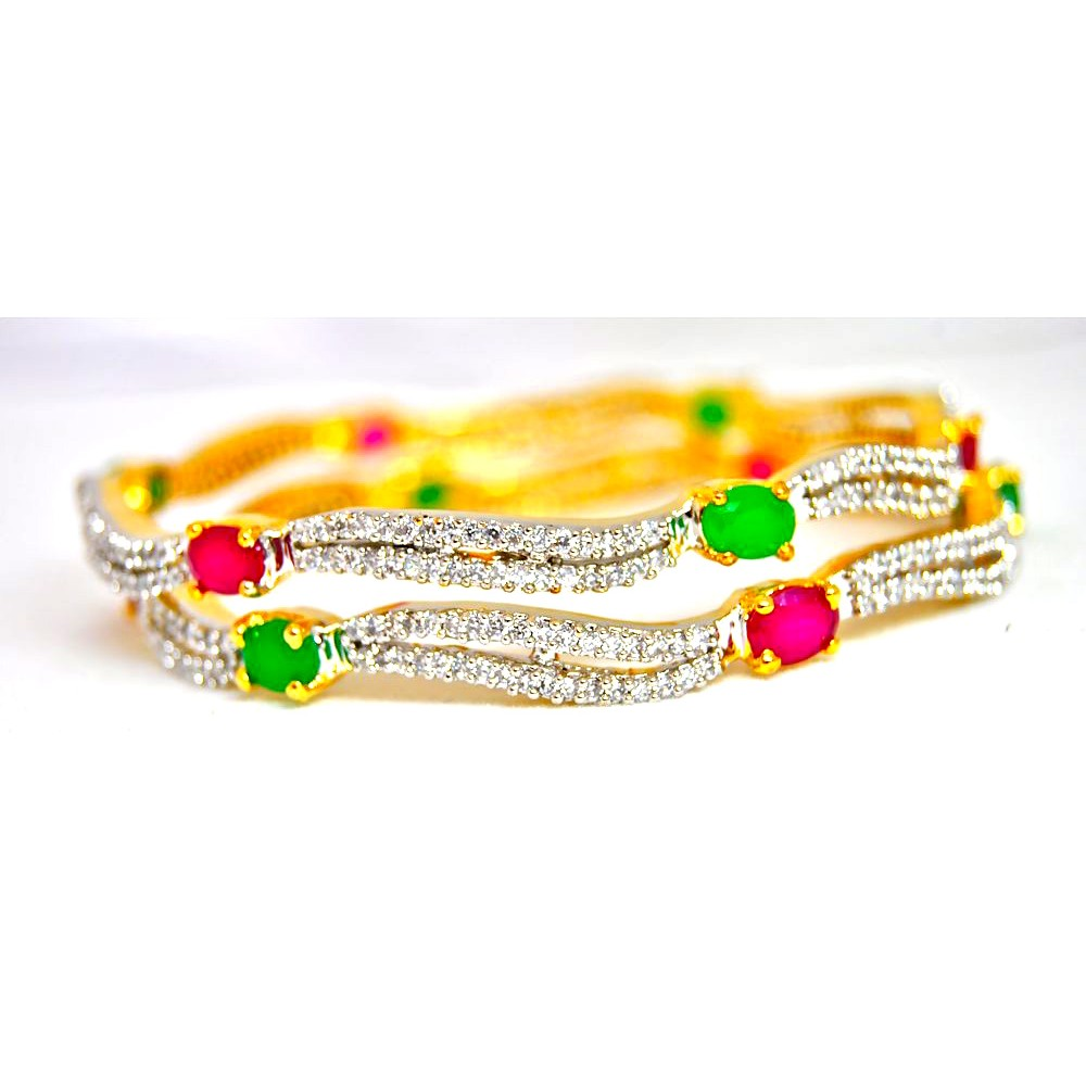 bangles emerald gold zevg bangle