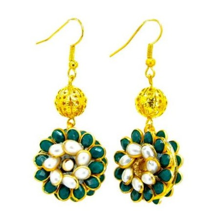 Green Pacchi Earrings