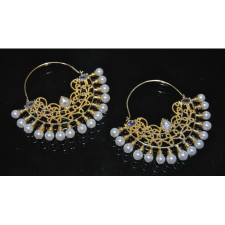 Chand Hoop Earrings