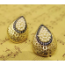 Bunched Pearl Gold Filigree Stud Earrings