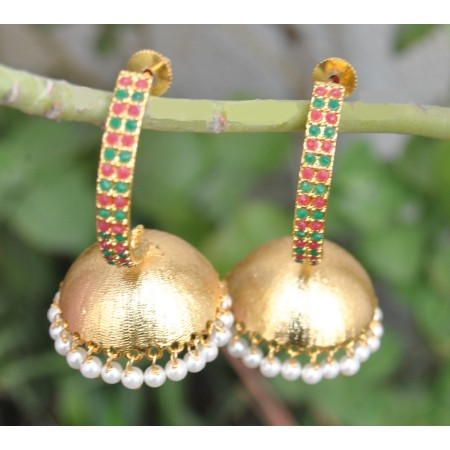 Dangling Jhumka Earrings