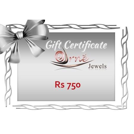 Orne Jewels Gift Certificate