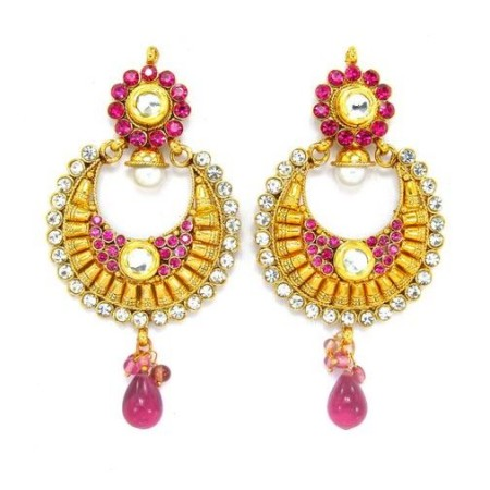 Ethnic Polki Earrings