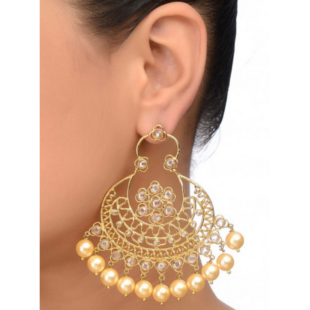 balis earrings polki chand bali earrings 4333